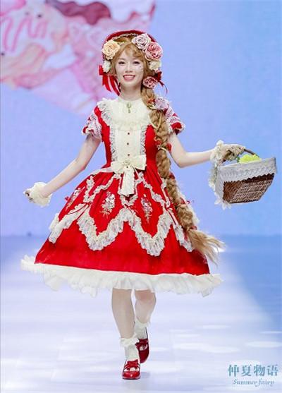 洛丽塔时装秀杭州开幕 现场宛如童话世界图3