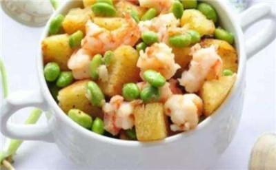 美食推荐:蚝汁烧螃蟹、带鱼炖豆腐、虾仁毛豆炒馒头图3