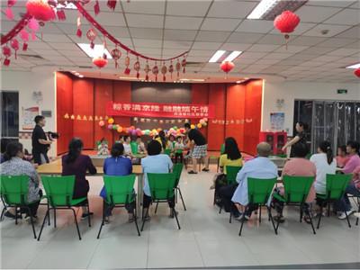 苏州园区西洛巷社区开展端午节亲子主题活动