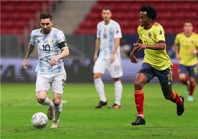 美洲杯:阿根廷4-3点球大战晋级决赛将战巴西,梅西送助攻图1