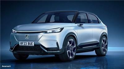 本田全新纯电小型SUV假想图 尺寸与缤智相当/或2023年亮相图1