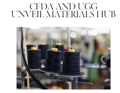 美国时装设计师协会与Ugg合作推出线上可持续材料中心